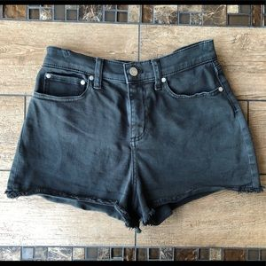 VICTORIA'S SECRET PINK HIGH WAISTED JEAN SHORTS